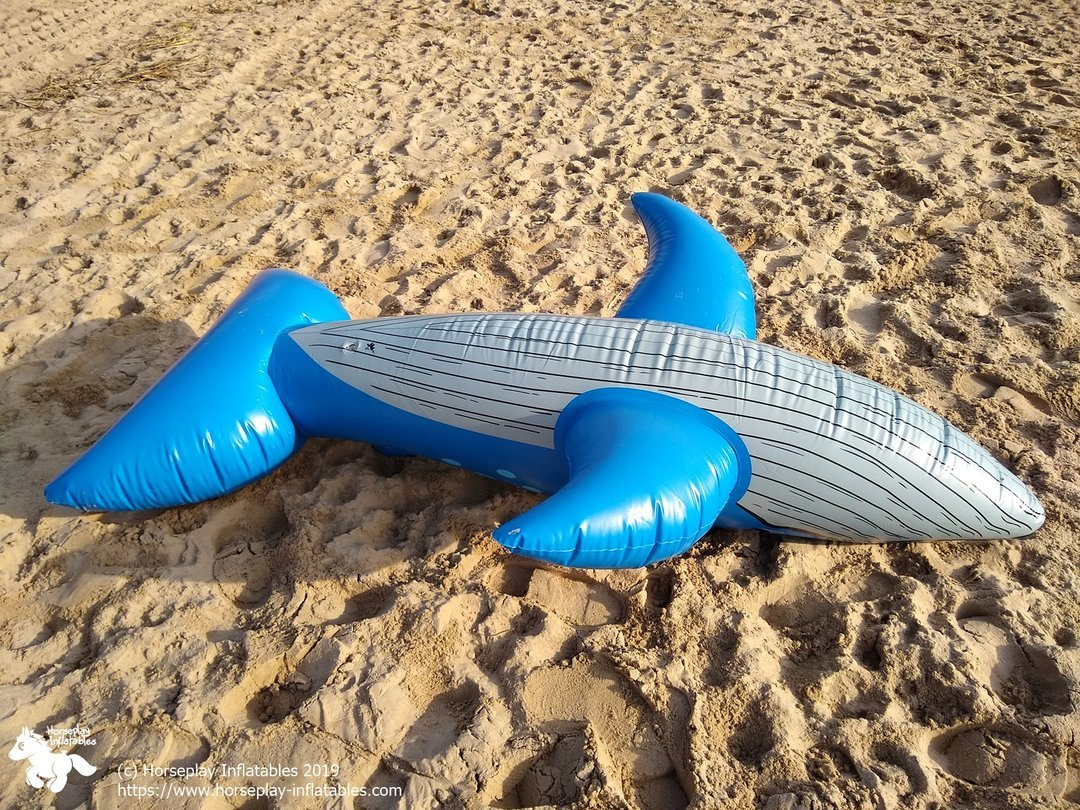 Horseplay 1990s Blue Whale - Bottom